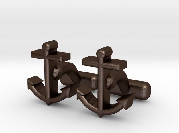 Ancor Cl in Matte Bronze Steel
