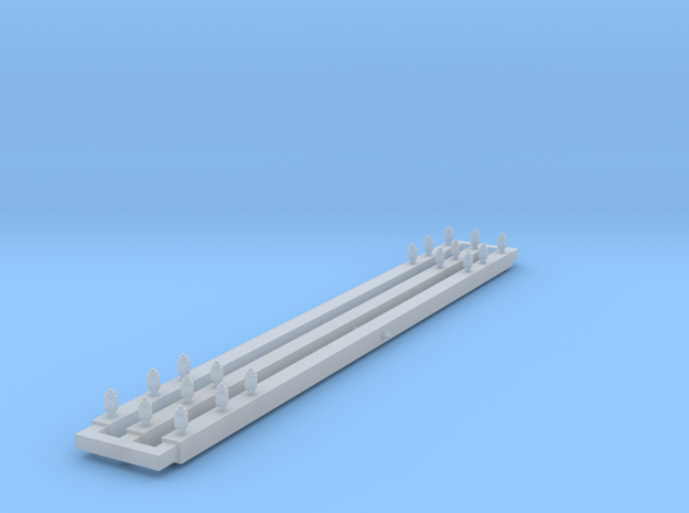 TRANSFORMER-xpoles64 in Smooth Fine Detail Plastic