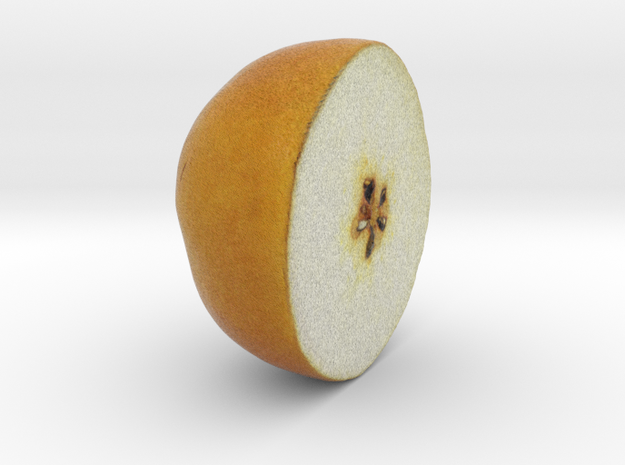 The Pear-3-Upper Half in Full Color Sandstone