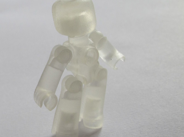 EGO miniature figure 3d printed