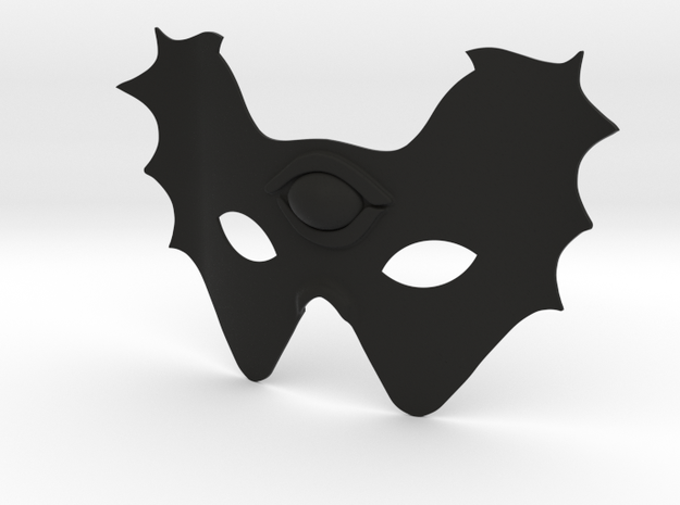 Mask  in Black Natural Versatile Plastic