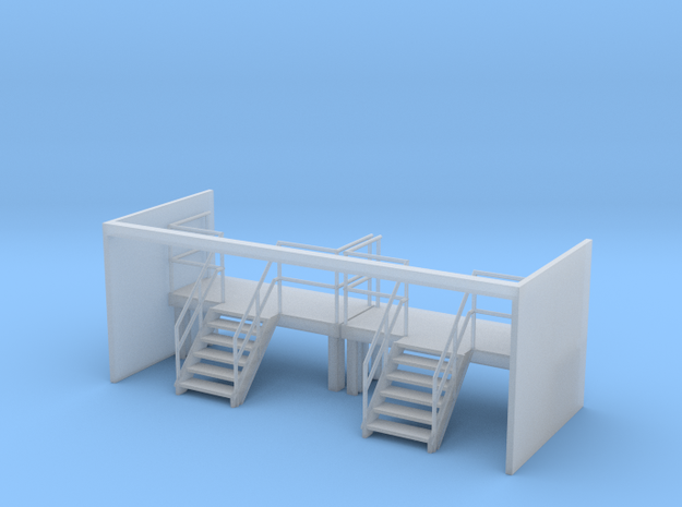 Factory Stairs in HO - Wide - 2 sets