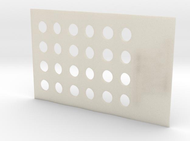 CardGrinderMiny in White Acrylic