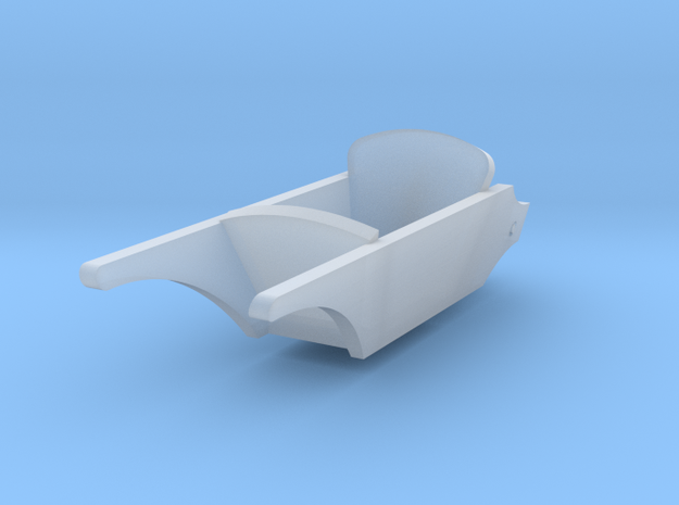 1/56th (28mm) scale wheelbarrow in Frosted Ultra Detail