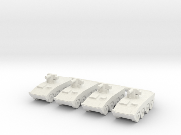 1/285 CM-32 IFV (12.5mm) (x4) in White Natural Versatile Plastic