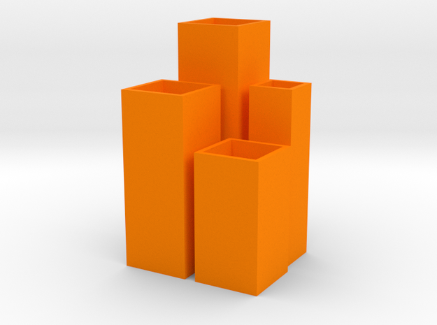Tower Vase Collection 1:12 scale dollhouse minis 3d printed