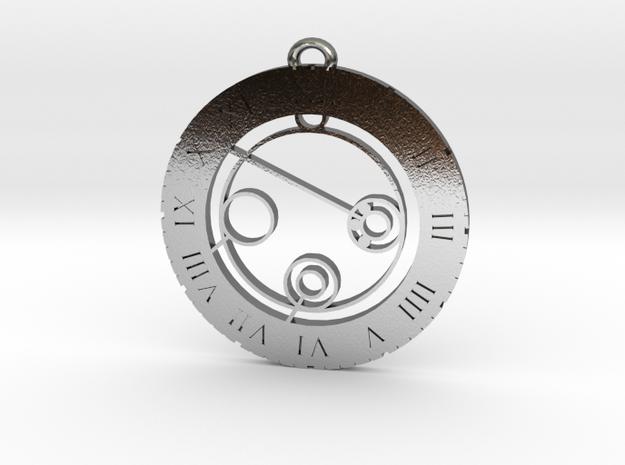 Julian - Pendant in Polished Silver