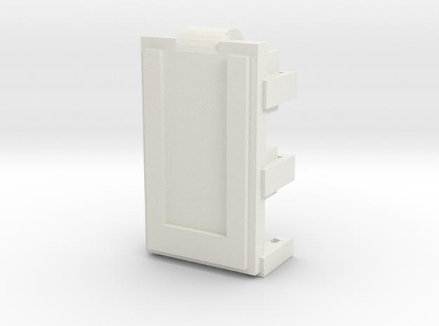 DNA40 Cradle v2 - moresalt edition in White Natural Versatile Plastic