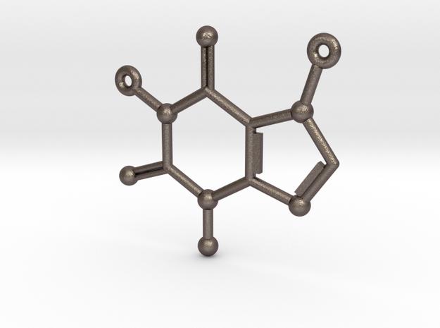 Caffeine Molecule Pendant or Earing