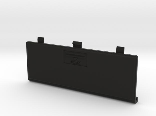 Futaba 3UCP Battery Cover in Black Natural Versatile Plastic