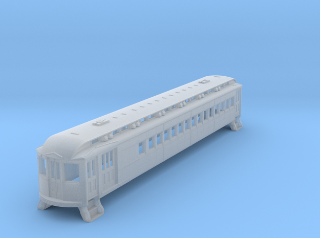 N Scale L&WV Combine Long BODY in Frosted Ultra Detail
