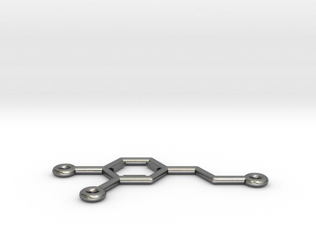 Dopamine Molecule Pendant or Earing