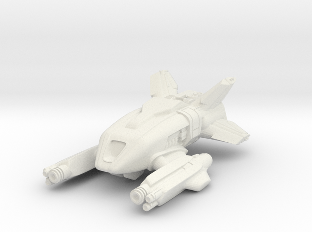 """Constant Sorrow"" - F11-60 in White Natural Versatile Plastic"