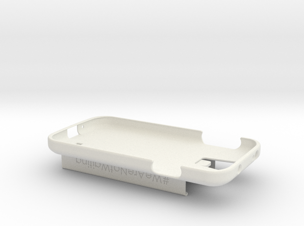 Galaxy S4 / Dexcom Case - NightScout or Share in White Natural Versatile Plastic