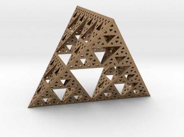Geometric Sierpinski Tetrahedron level 4 3d printed