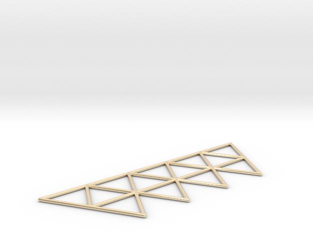 Vega Frame 2D in 14K Gold