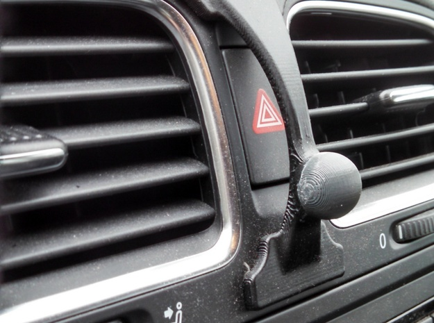 Golf Mk6 Hazard Garmin Mount 3d printed