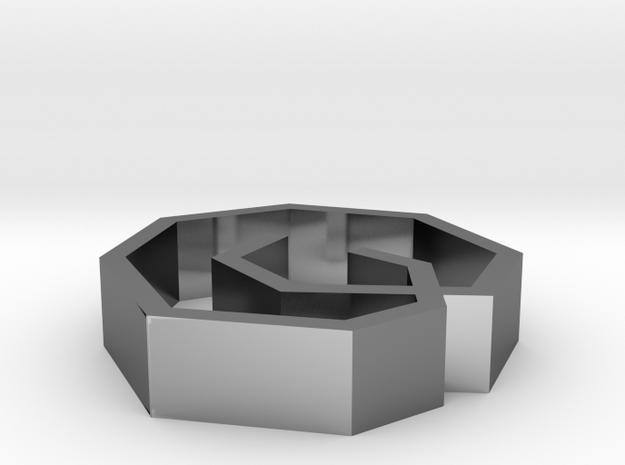 Rodin Pendant Small 3d printed