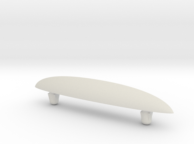 SkateFin (Beta) in White Strong & Flexible