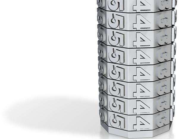 I3D MECHANICAL CALENDAR 3d printed