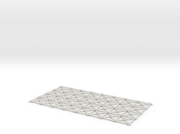 Simulation Mesh - Two Diagonals / Centroid Joint 3d printed