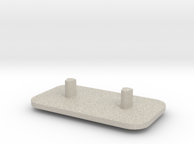 Electric Tooth Brush Holder(braun) in Natural Sandstone
