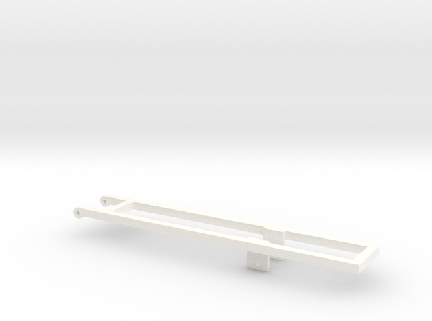 20/22 mounting frame in White Processed Versatile Plastic