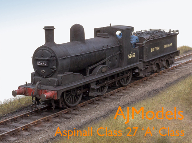 AJModels P03A L&Y A Class 27 for Bachmann Chassis in Smooth Fine Detail Plastic