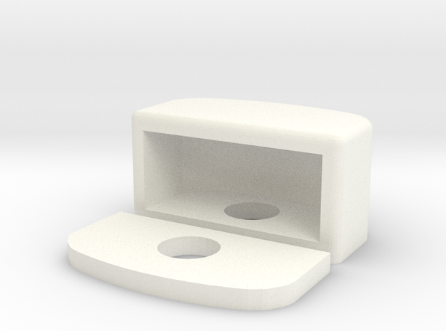 Defender Plate Light in White Processed Versatile Plastic