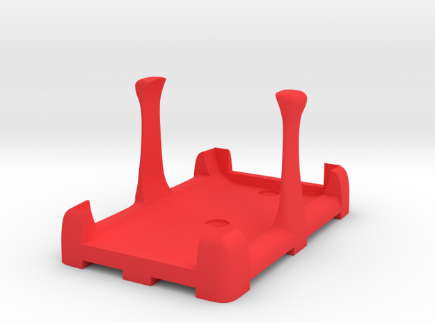 Battery Mount (for Fromeco 5200) in Red Strong & Flexible Polished