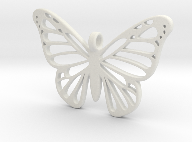 Butterbug 7 in White Strong & Flexible