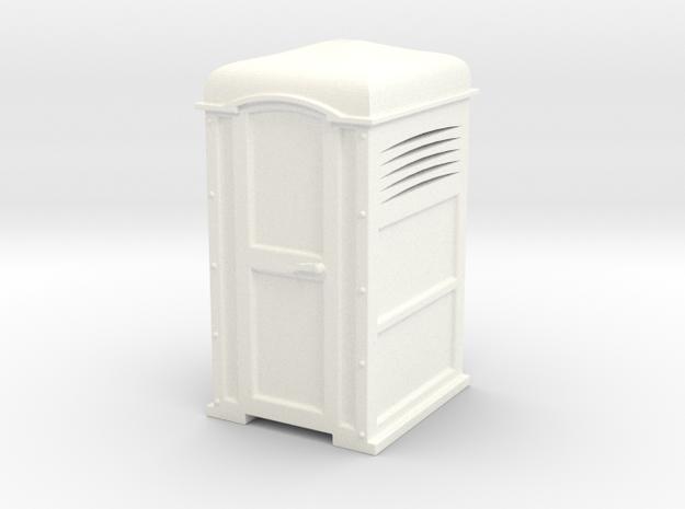 Urinario Publico in White Processed Versatile Plastic