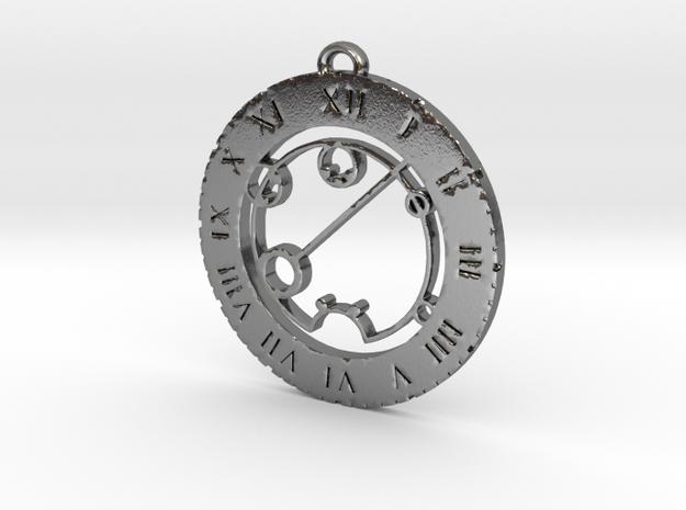 Shaelynn - Pendant in Polished Silver