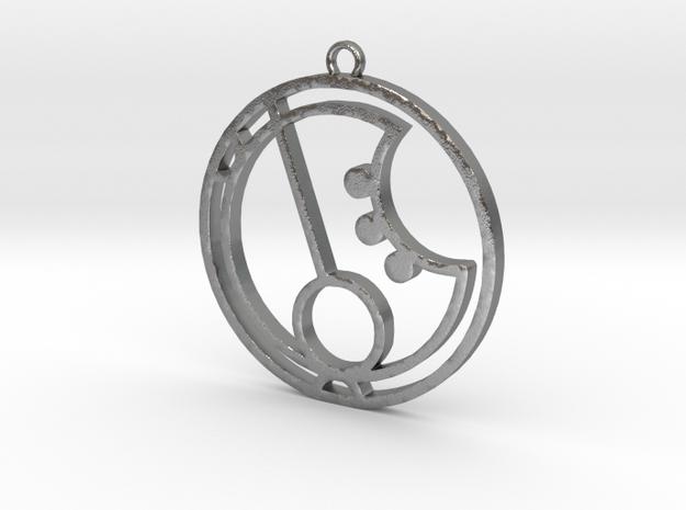 Nara - Necklace in Natural Silver