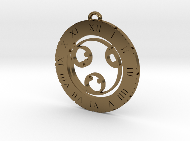 Kyla - Pendant in Polished Bronze