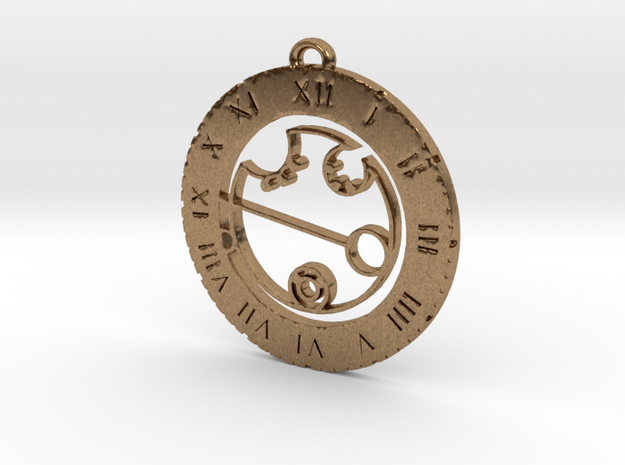Kendra - Pendant in Natural Brass