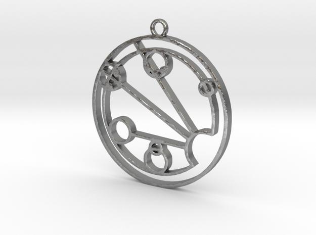 Jocelyn - Necklace in Natural Silver