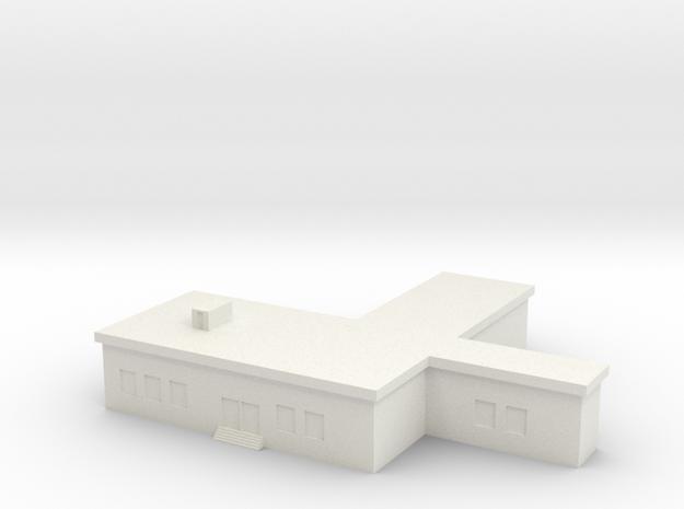1/600 Command Building in White Natural Versatile Plastic