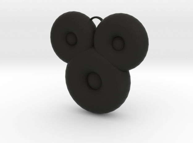 Mickeymouse in Black Natural Versatile Plastic