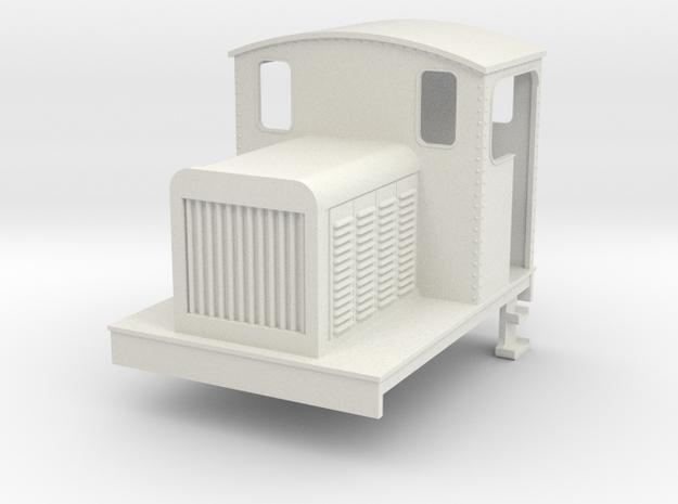 OO Freelance diesel loco (short) v1 3d printed