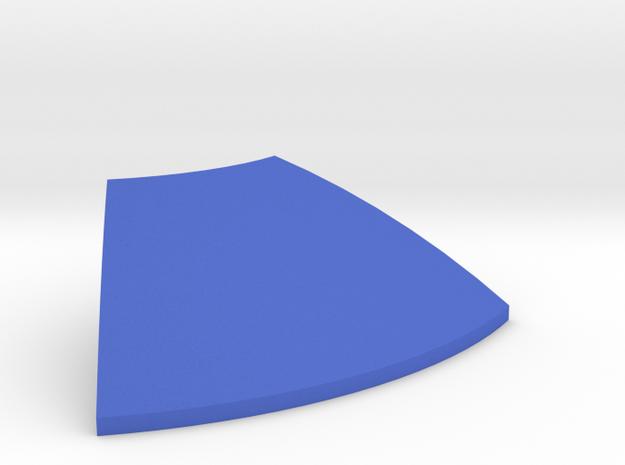 Hasbro R2 Slice Panel in Blue Processed Versatile Plastic