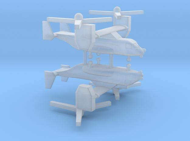 1/600 CV-22 / MV-22 Osprey (x2) in Smooth Fine Detail Plastic