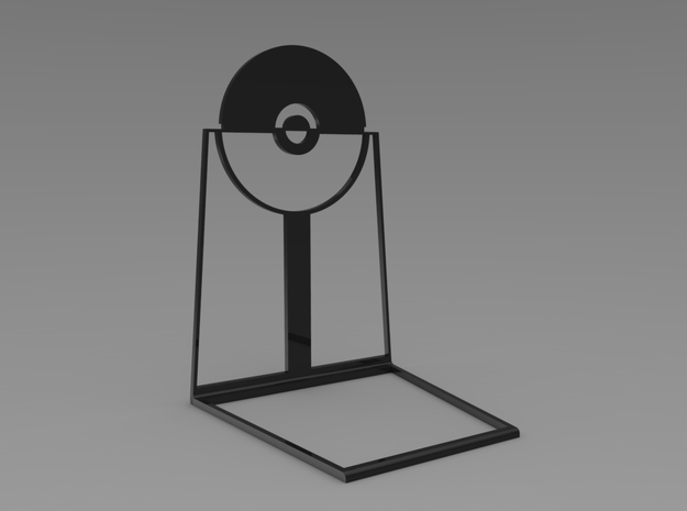 Pokeball BookStand in Black Strong & Flexible