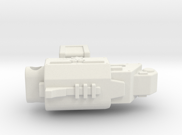 Munny Heavy Bolter in White Strong & Flexible