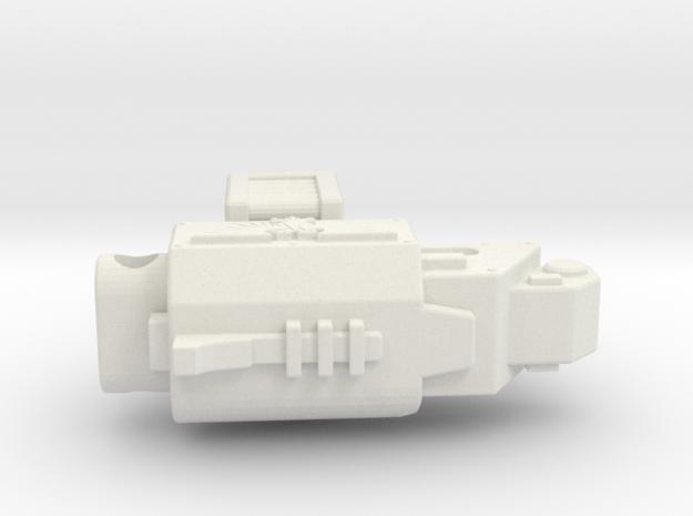 Munny Heavy Bolter in White Natural Versatile Plastic