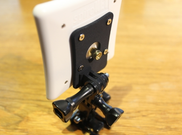 ImmersionRC 5.8 Patch Antenna to GoPro mounting