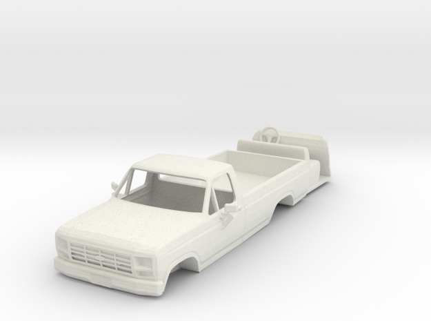 1/64 scale 1984 Ford pickup with interior