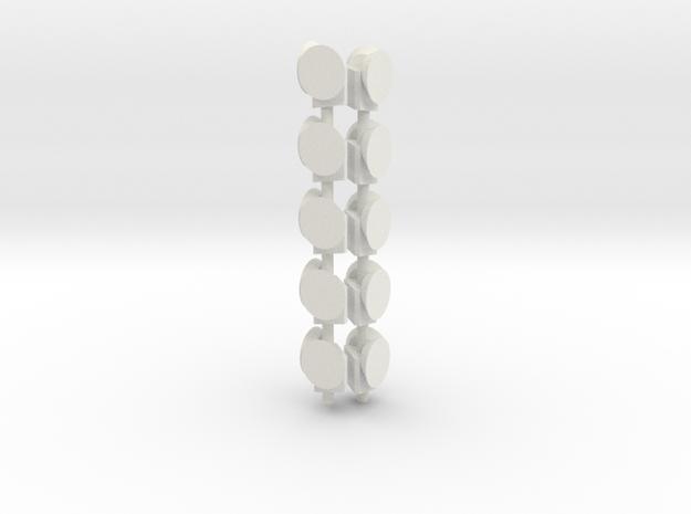 Dachsignal Wien in White Natural Versatile Plastic