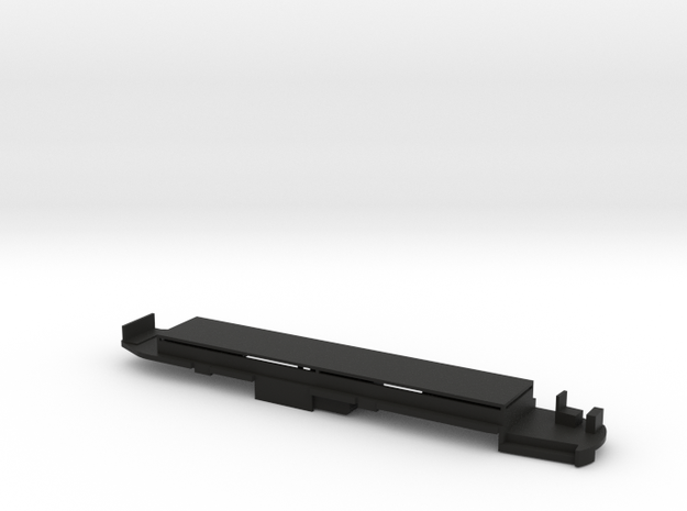 PCC chassis for Bowser models in Black Natural Versatile Plastic