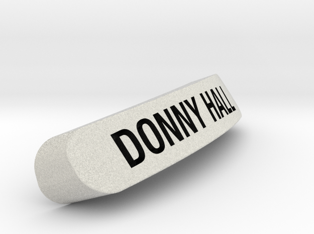 DONNY HALL Nameplate for SteelSeries Rival in Full Color Sandstone